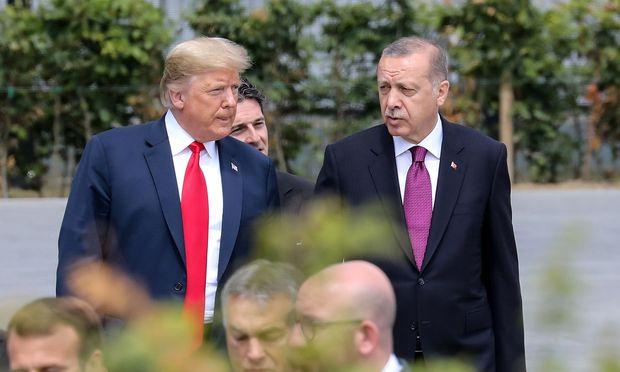 Erdogan droht US-Präsident Trump - Politik