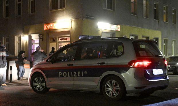 Am Tatort.