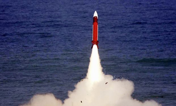 Raketenabwehr-Test in Israel 2004