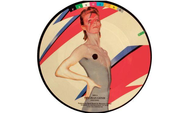 """""""Fashions"""". Eine von zehn Picture Discs, die David Bowies Label 1982 veröffentlichte."""