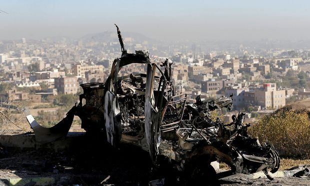 Eine saudische Koalition bekämpft im Jemen die vom Iran unterstützten schiitischen Huthi-Rebellen.
