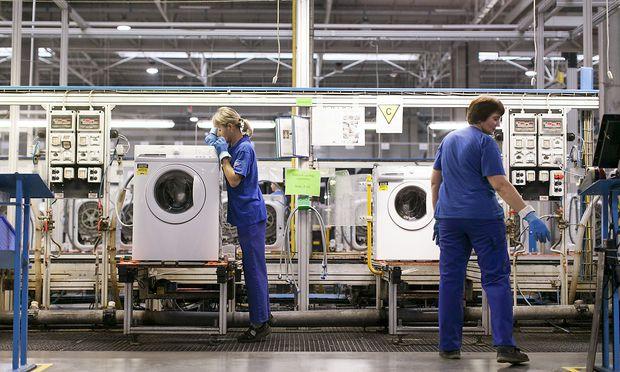 Dringend gesucht: Arbeitskräfte in Osteuropa (hier eine Elektrolux-Fabrik in Polen)
