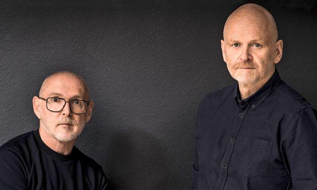 Eingespielt. Otto Drögsler (l.) und Jörg Ehrlich, ein designendes Paar.