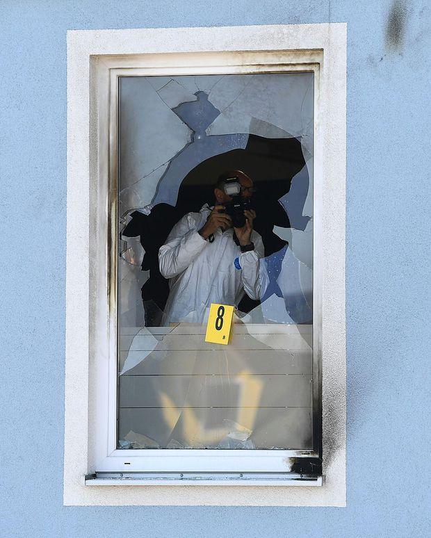 NIEDEROeSTERREICH: BRAND IN FPOe-LANDESGESCHAeFTSSTELLE IN ST. POeLTEN