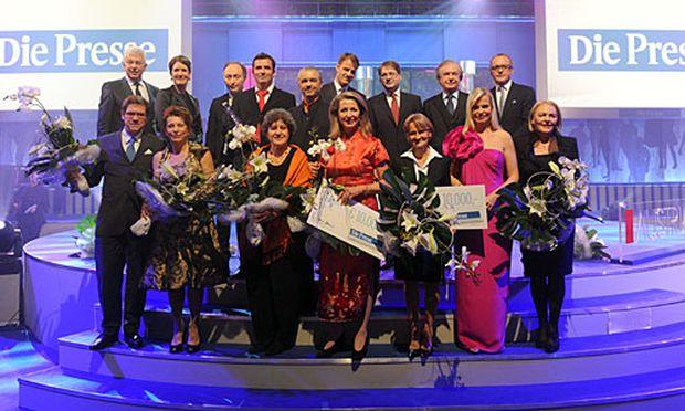 Großes Finale der Austria 11-Gala.