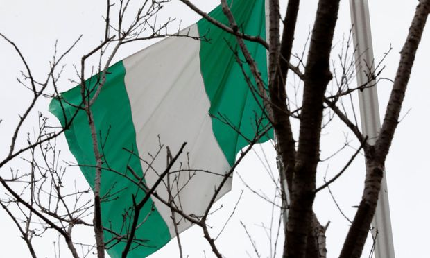 Symbolbild: Flagge von Nigeria