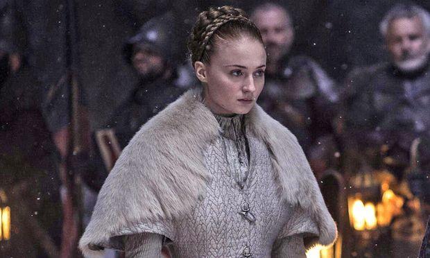 Sansa in ihrem Hochzeitskleid / Bild: (c) HBO/HELEN SLOAN