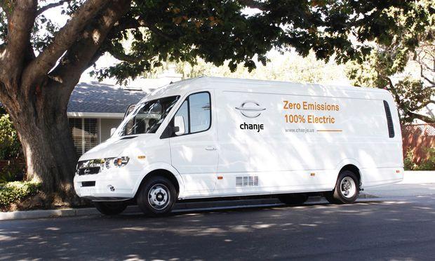 Der Chanje V8070 hat eine Transportkapazität von 2,8 Tonnen