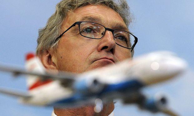 Wolfgang Mayrhuber im Jahr 2009 bei der Übernahme der AUA. Mit seinem Abgang endet eine Ära.  / Bild: EPA
