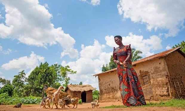 Eigenständig. Eines von vier Fokusthemen ist die Unterstützung von Kleinbauern.
