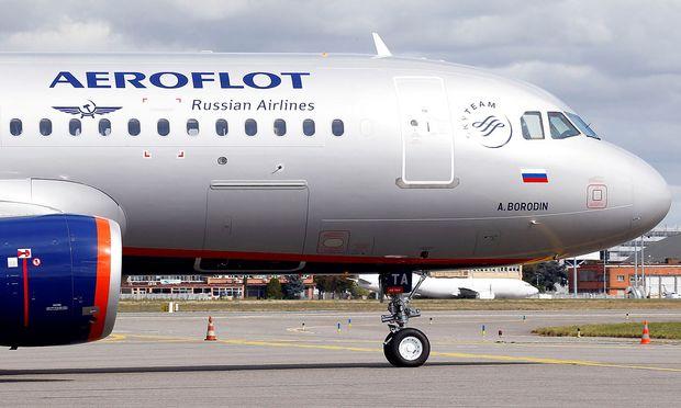 Britische Behörden durchsuchen Aeroflot-Maschine in Heathrow