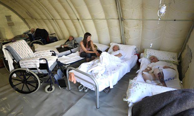 8000 Menschen sind nach dem Erdbeben obdachlos.