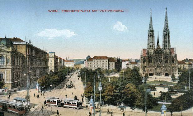 Der heutige Rooseveltplatz hieß von 1919 bis 1934 Freiheitsplatz.