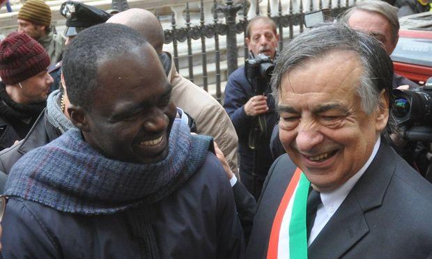 Setzt sich für die Rechte von Migranten ein: Palermos Bürgermeister Leoluca Orlando.