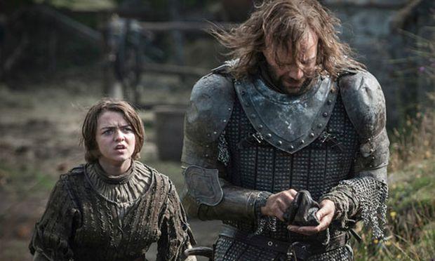 Arya und The Hound / Bild: (c) HBO