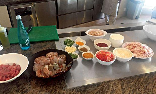 Kulinarik. Garudhiya, Mashuni oder Chapati. Auch Kochkurse werden angeboten.