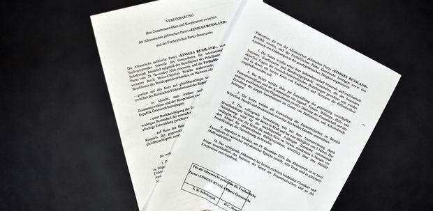 Vereinbarung zwischen FPÖ und