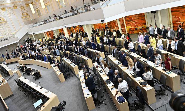 Sitzung des Nationalrats
