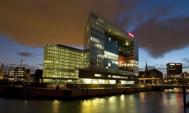 """Das Redaktionsgebäude des """"Spiegel"""" in Hamburg"""
