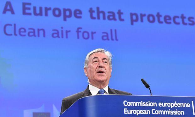 EU-Kommission ermahnt Deutschland wegen VW-Skandals