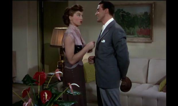 Berühmte Szene aus dem Film Neptune's Daughter von 1949.
