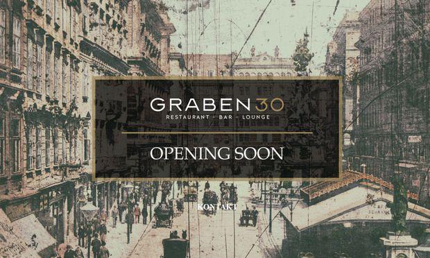 Neueröffnung an prominenter Adresse: Das Graben 30 in der Innenstadt