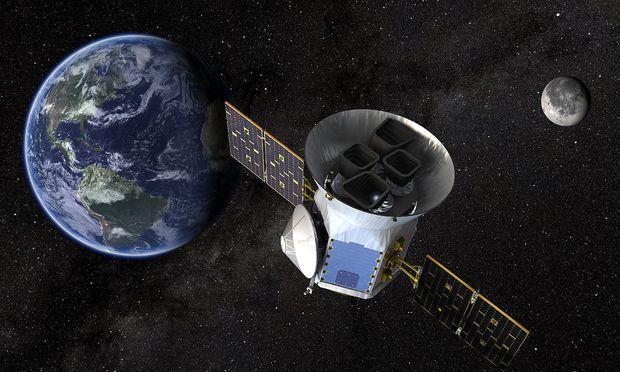 Tess soll Daten über Planeten und Sterne sammeln.