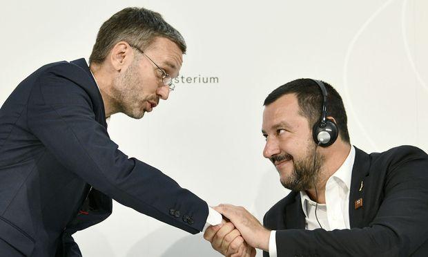Kickl und Salvini