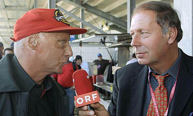 Prüller im Gespräch mit Niki Lauda