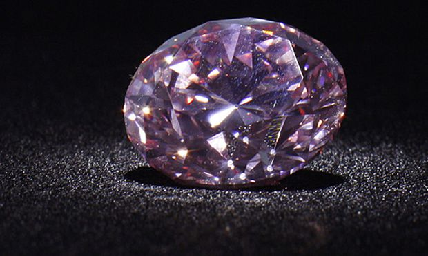 Rosa Diamant fuer Millionen