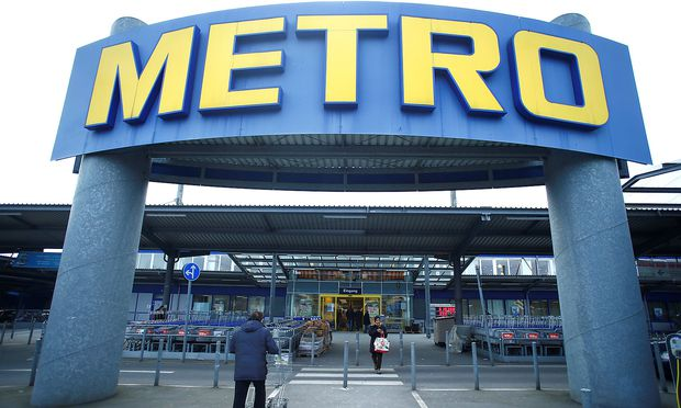 FILE PHOTO: German retailer Metro AG supermarket in Duesseldorf