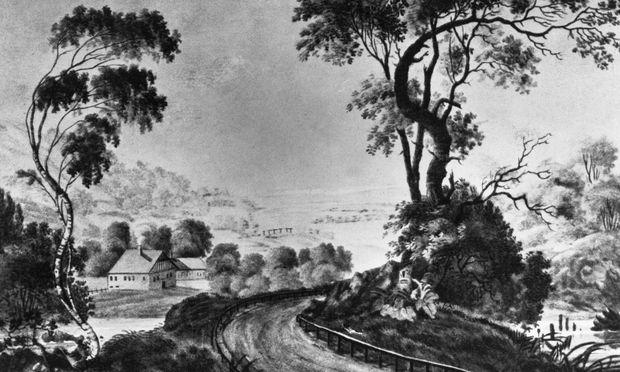 Stifter war ein grandioser Landschaftsmaler – in Worten mehr als in Bildern (hier ein undatiertes Werk).