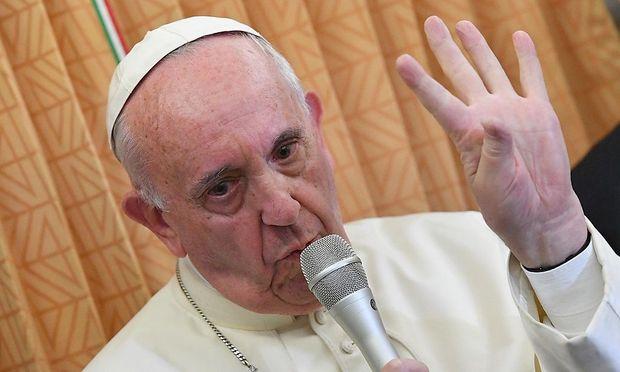 Papst Franziskus bei seiner jüngsten Auslandsreise in den Kaukasus