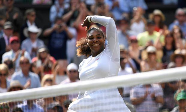 """""""Ich genieße jeden Moment"""", sagt Serena Williams."""