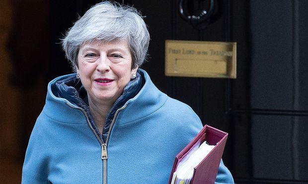 Regierungschefin Theresa May