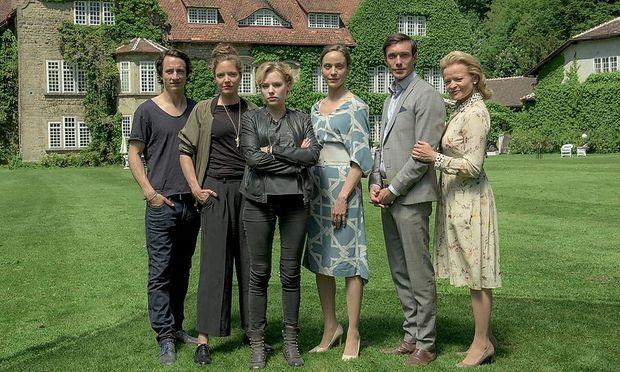 """""""Vollblut"""", die erste von Servus TV produzierte Fernsehserie."""