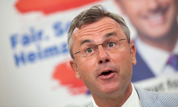 FPÖ-Chef Norbert Hofer