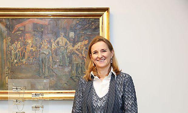 """""""Führung darf Eigeninitiativen nicht blockieren"""", sagt Evva-Geschäftsleiterin Nicole Ehrlich-Adám."""