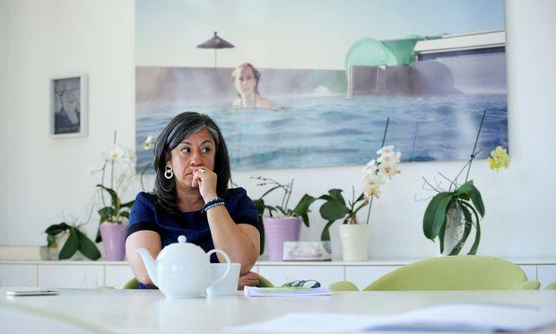 Wiens grüne Vizebürgermeisterin und Planungsstadträtin, Maria Vassilakou. / Bild: (c) Die Presse (Clemens Fabry)
