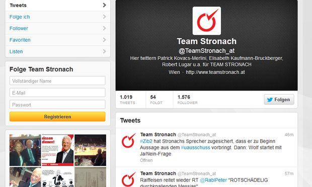 Stronach Wolf streiten Twitter ORF ZiB2