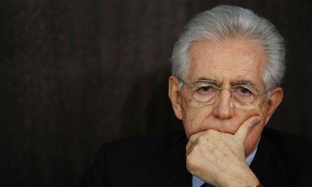 Italien Mario Monti will