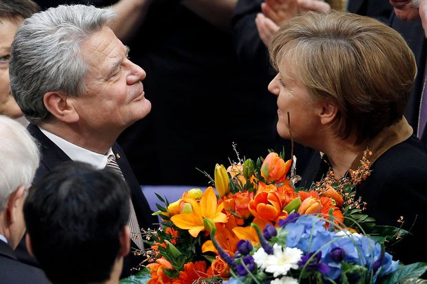 Wahltriumph Gauck neuer deutscher