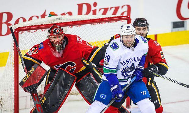 Thomas Vanek gegen Calgary