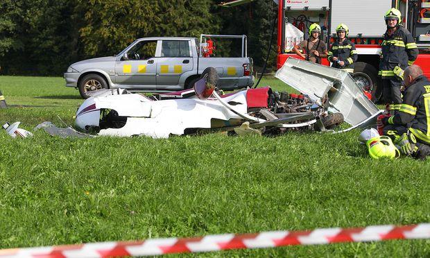 Die Unfallstelle in Scharnstein