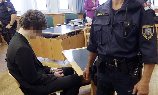 Arechivbild: Josef S. vergangenen Sommer vor Gericht