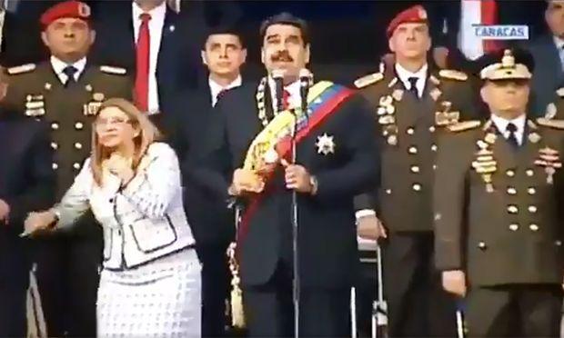 Drohnenanschlag auf Venezuelas Präsident Maduro