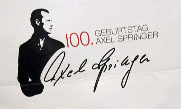 Axel Springer Mann BildZeitung