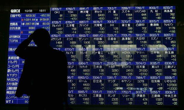 Börsenkurse in Tokio / Bild: REUTERS