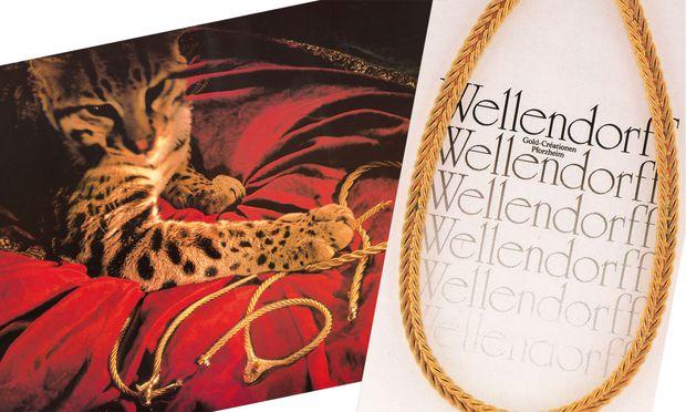 Kampagne. Anfang der 1990er warb man mit Raubkatzen und Typografie.