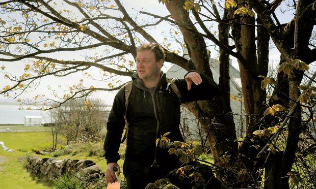 Profi. Mark Williams ist Forager und Aktivist für freies Sammeln.